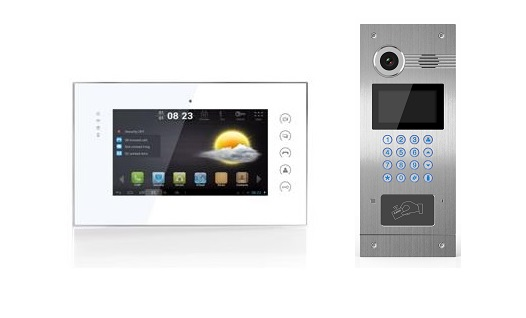 Multi Tenant IP Network Video Intercom System