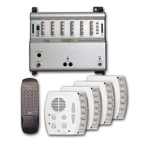 Channel Vision Select Call Intercom System