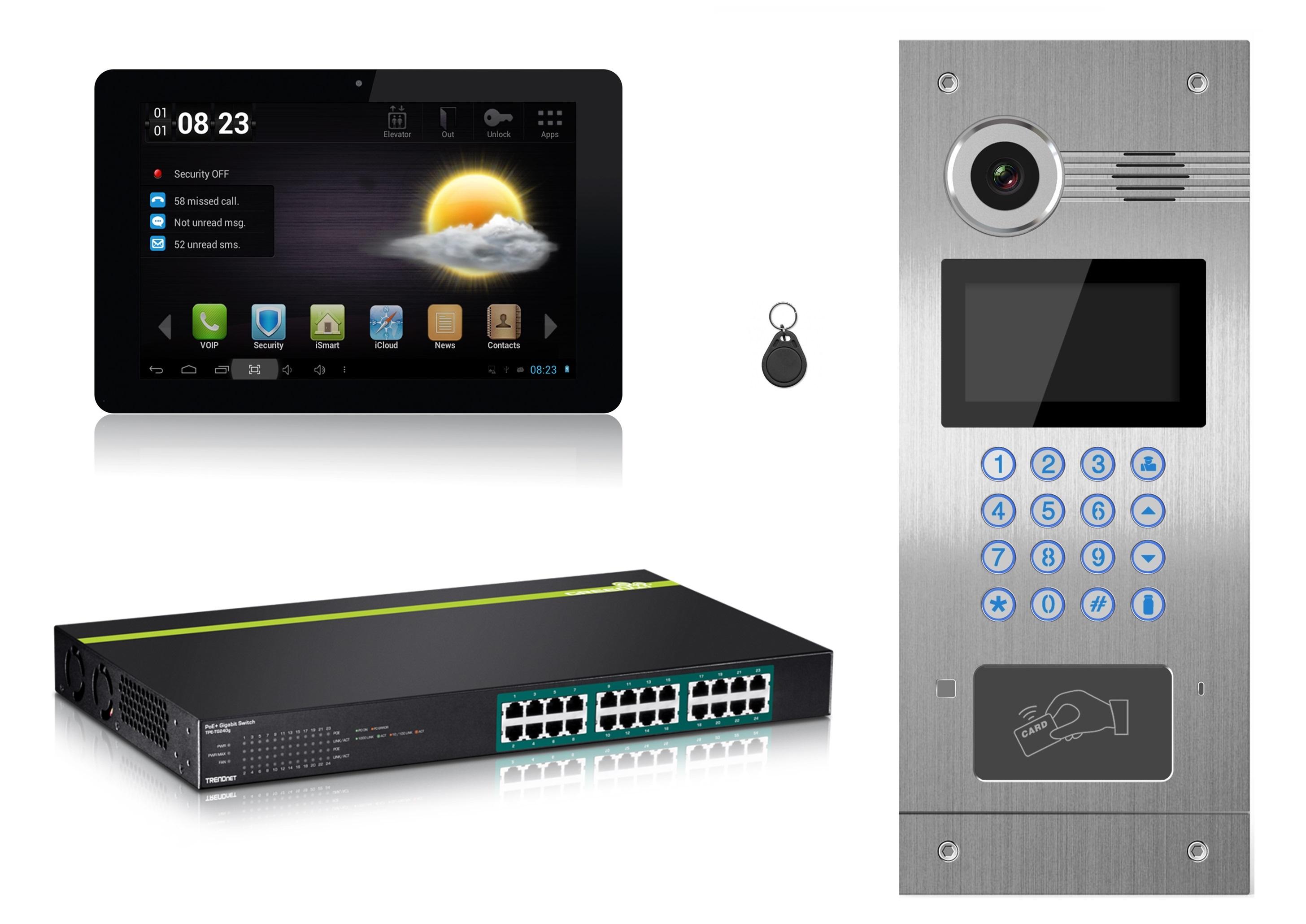 IP apartment Video Intercom System