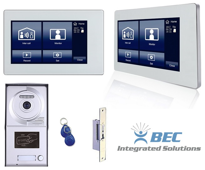 Multitenant video intercom system kit