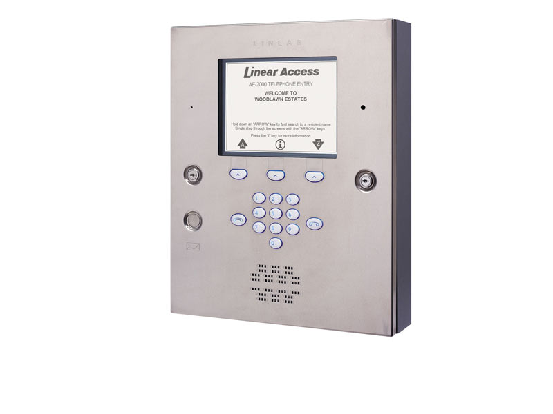 AE2000PLUS Telephone Entry System - Four Door