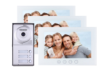 Three Tenant Video Intercom