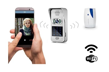 Wireless WiFi IP Door Camera