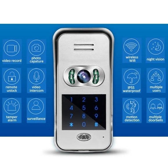 Wireless Doorbell Camera Features