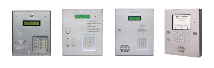Commercial telephone entry systems