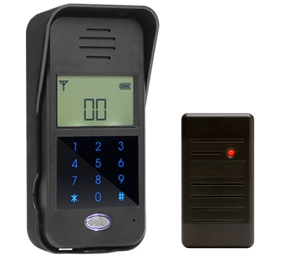 Wireless Intercom System Card Reader