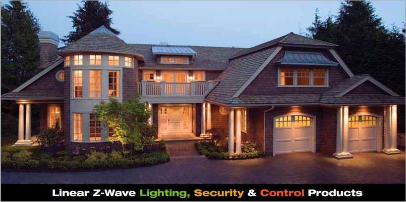 z-wave linear security