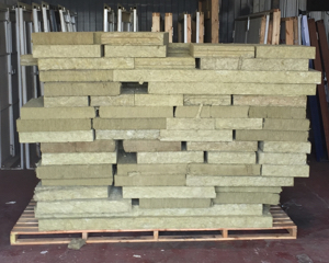 Insulation on pallets