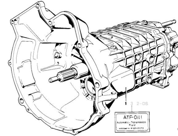 V Getrag Used 240 5 Spd Manual Transmission Bmw Oem 23001221012 E30