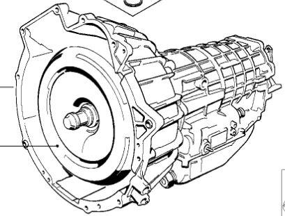 V Zf 4hp22 Used Automatic Transmission Bmw Oem 24001218184 E30 325i