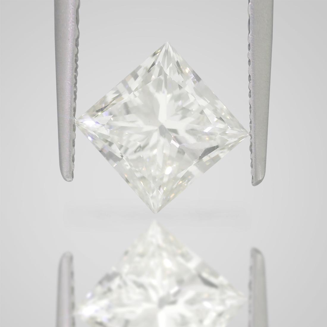 2 CARAT G COLOR SI1 CLARITY PRINCESS CUT NATURAL LOOSE DIAMOND