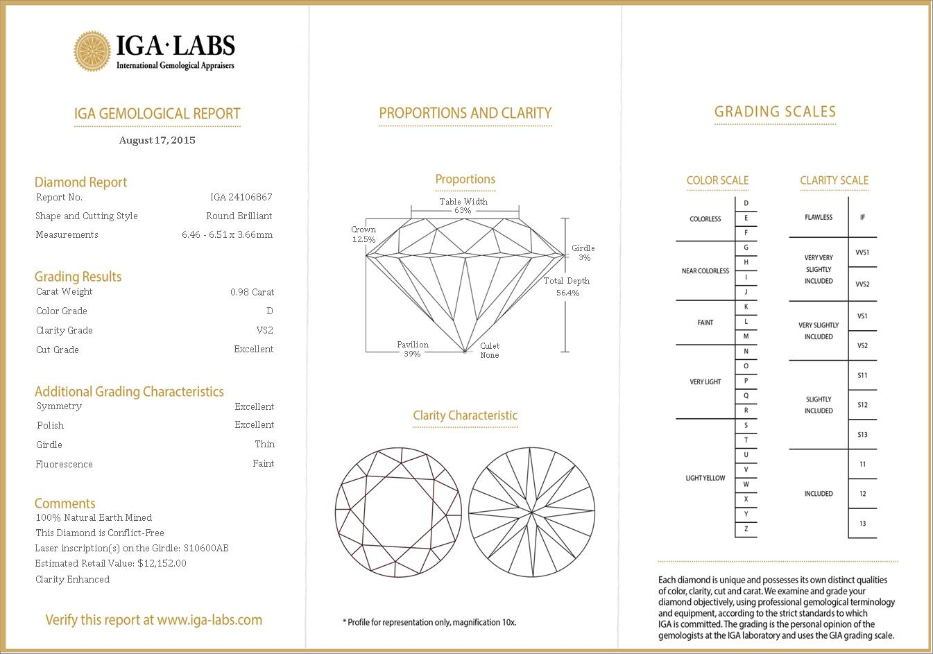 Diamonds clarity and color scale jcmanagement diamonds clarity and color scale diamond color clarity chart nvjuhfo Gallery