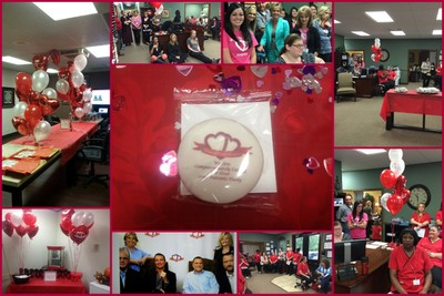 Heart to Heart Hospice Holds a Sweet Celebration with 1-800-Bakery.com Goodies