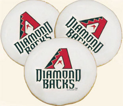 Arizona Diamondbacks Cookies