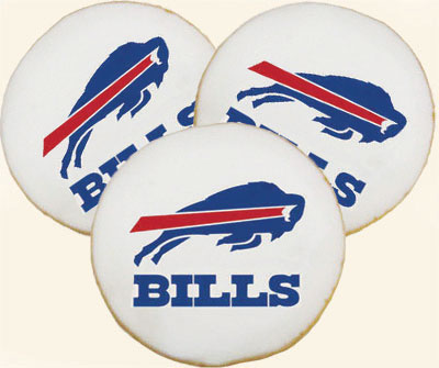 Buffalo Bills Cookies