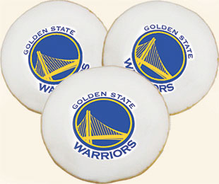 Golden State Warriors Cookies