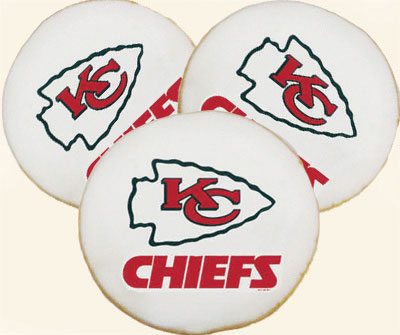 Kansas City Chiefs Cookies