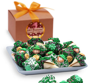 St. Patrick's Gourmet Fortune Cookies - Gift Box of 12