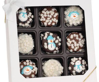 Winter Theme Decorated Oreos® - Box of 9
