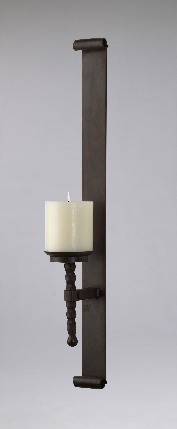 Details About Tuscan Metal Wall Candle Holder Rustic Sconce Large