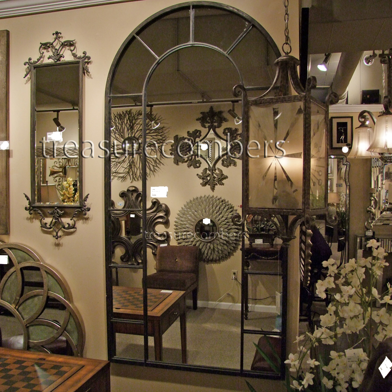 most mirror inspirations floors floor mirrors white pane church arched decorative window terrific arch style wall large