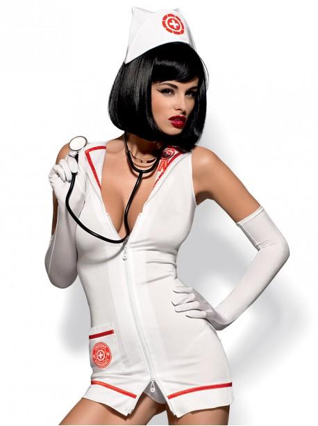 Costume infirmière + sthétoscope | Obsessive
