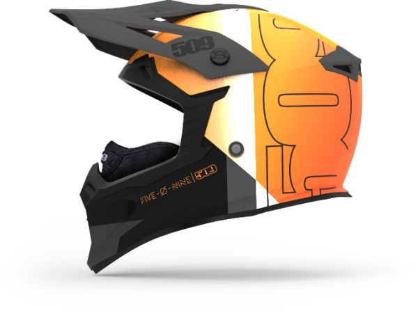 509 Tactical Orange Helmet