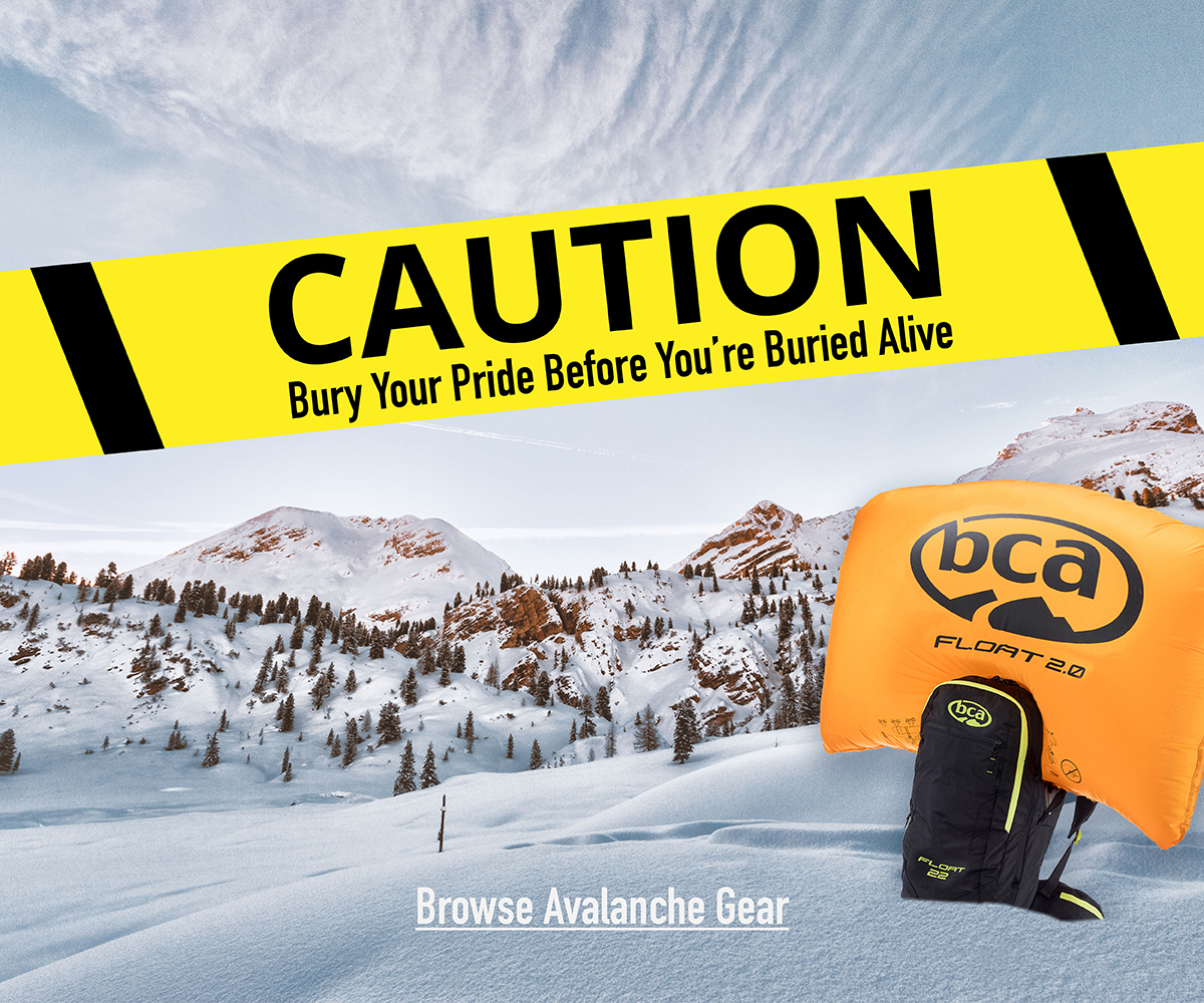CAUTION: Bury Your Pride Before You're Buried Alive