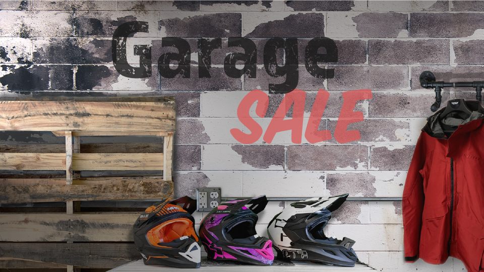 Garage Sale! Up to 50% Off!