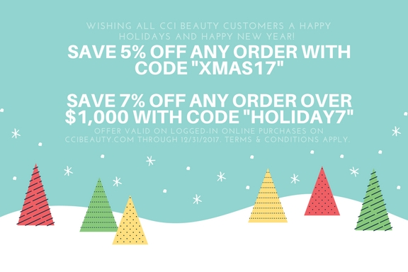 Holiday Discount Codes!