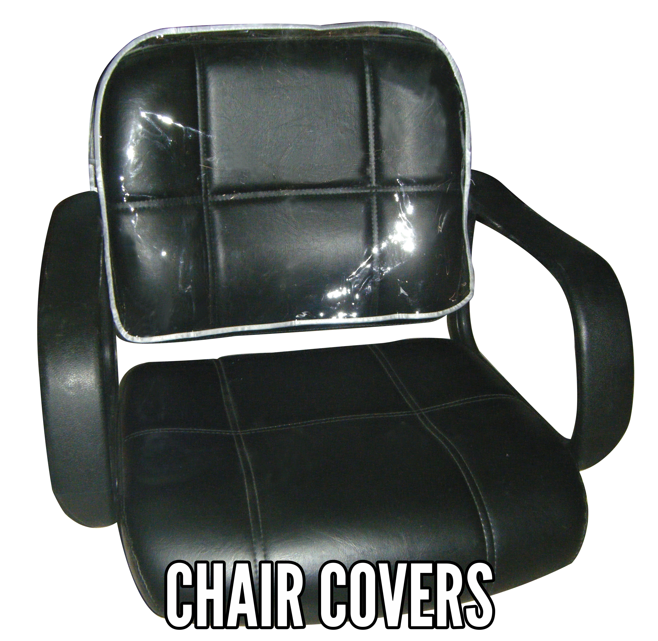 Clear Styling Chair Cover Protectors For Hair Salon And