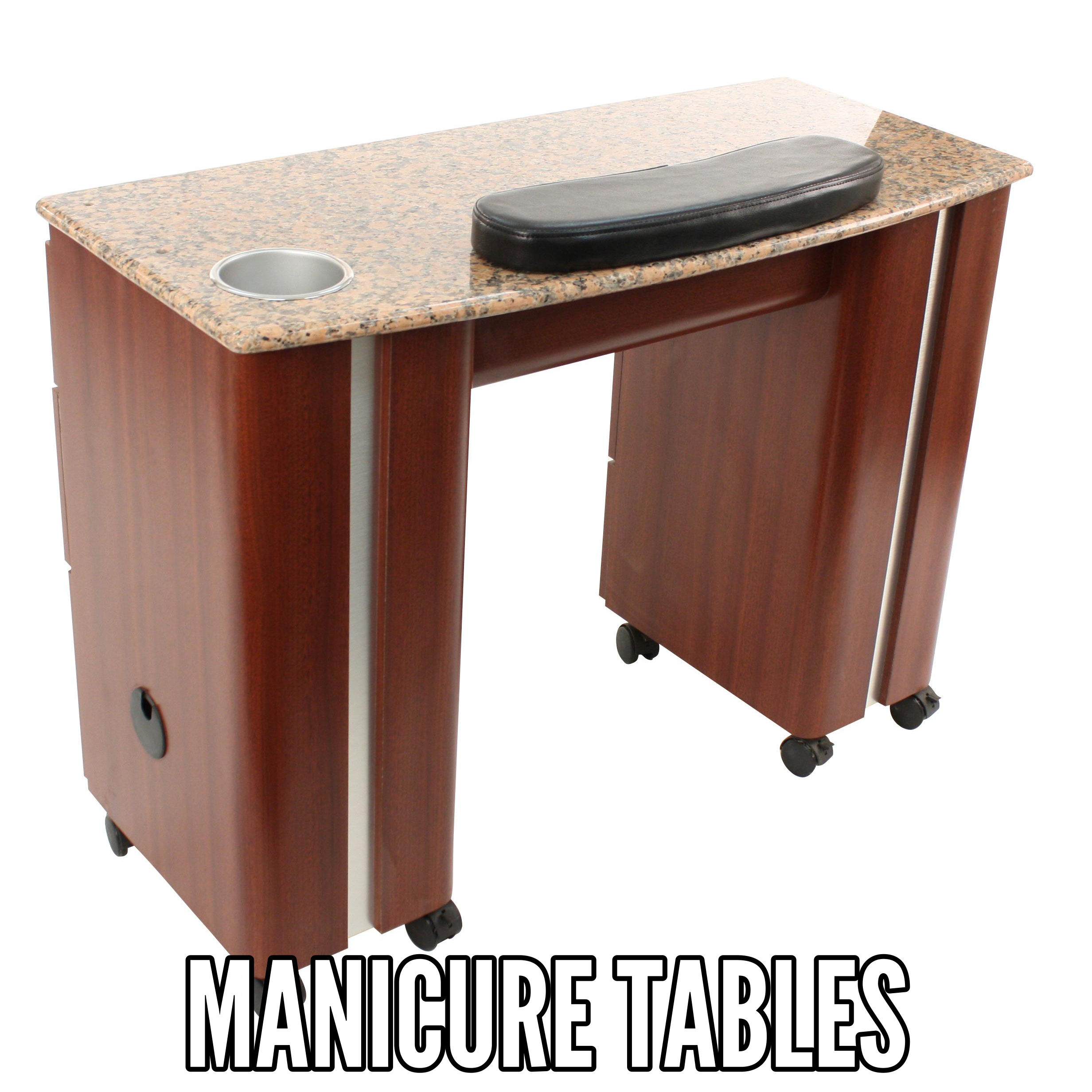 uv special hidden manicure table dark marble ita slots wood picture wheels sale black snow italica for top with of