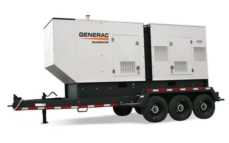 Trailer Mounted Diesel Generators - Industrial Generators For Sale
