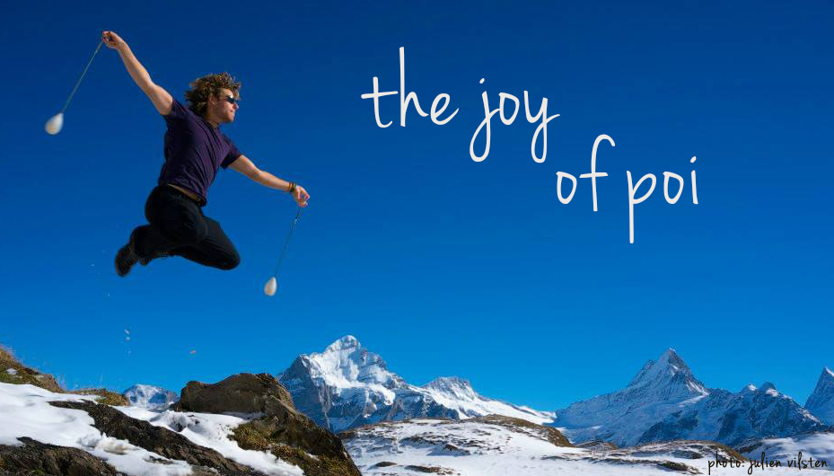 the joy of poi: creating content that tells us why