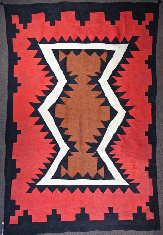 A Late Germantown Transitional Weaving