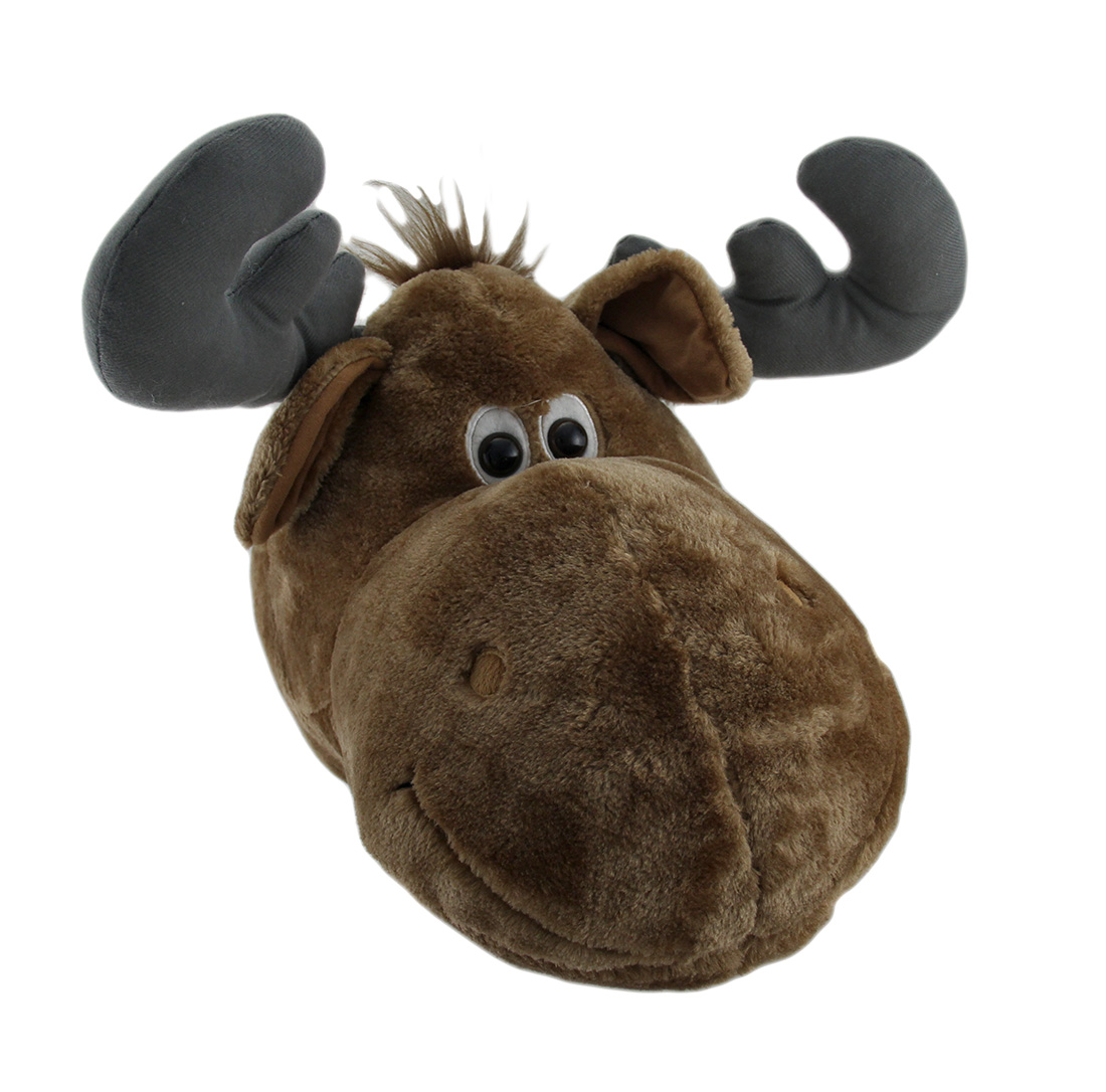 Zeckos Wild Walls Stuffed Animal Head Plush Wall Sculpture Ebay