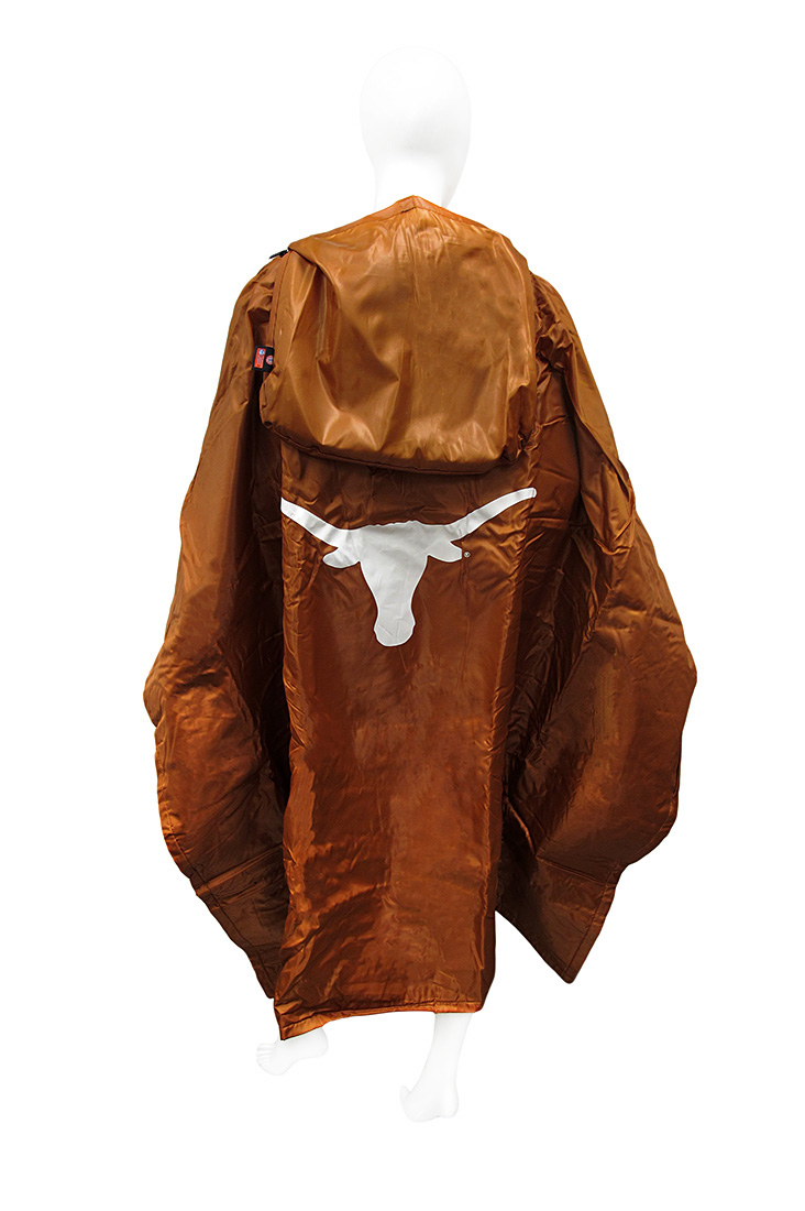 texas longhorns 3 in 1 poncho blanket stadium seat zeckos