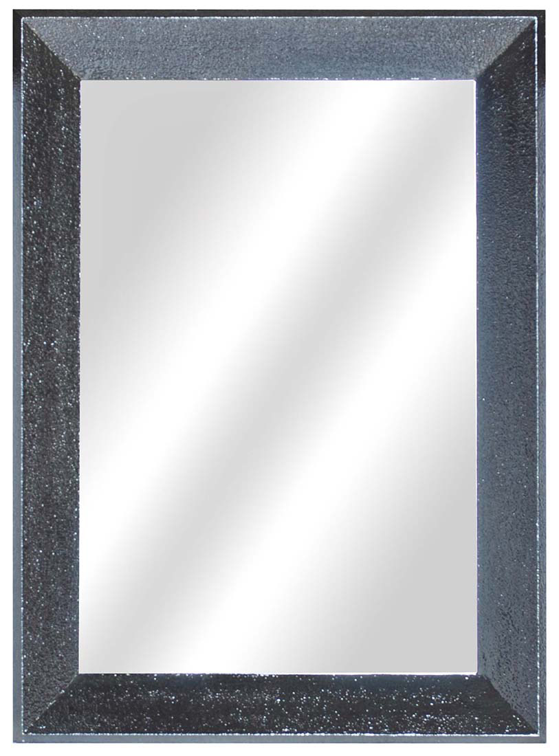 Franklin Acabado Peltre Madera Enmarcado Espejo de pared 44 X 32 | eBay