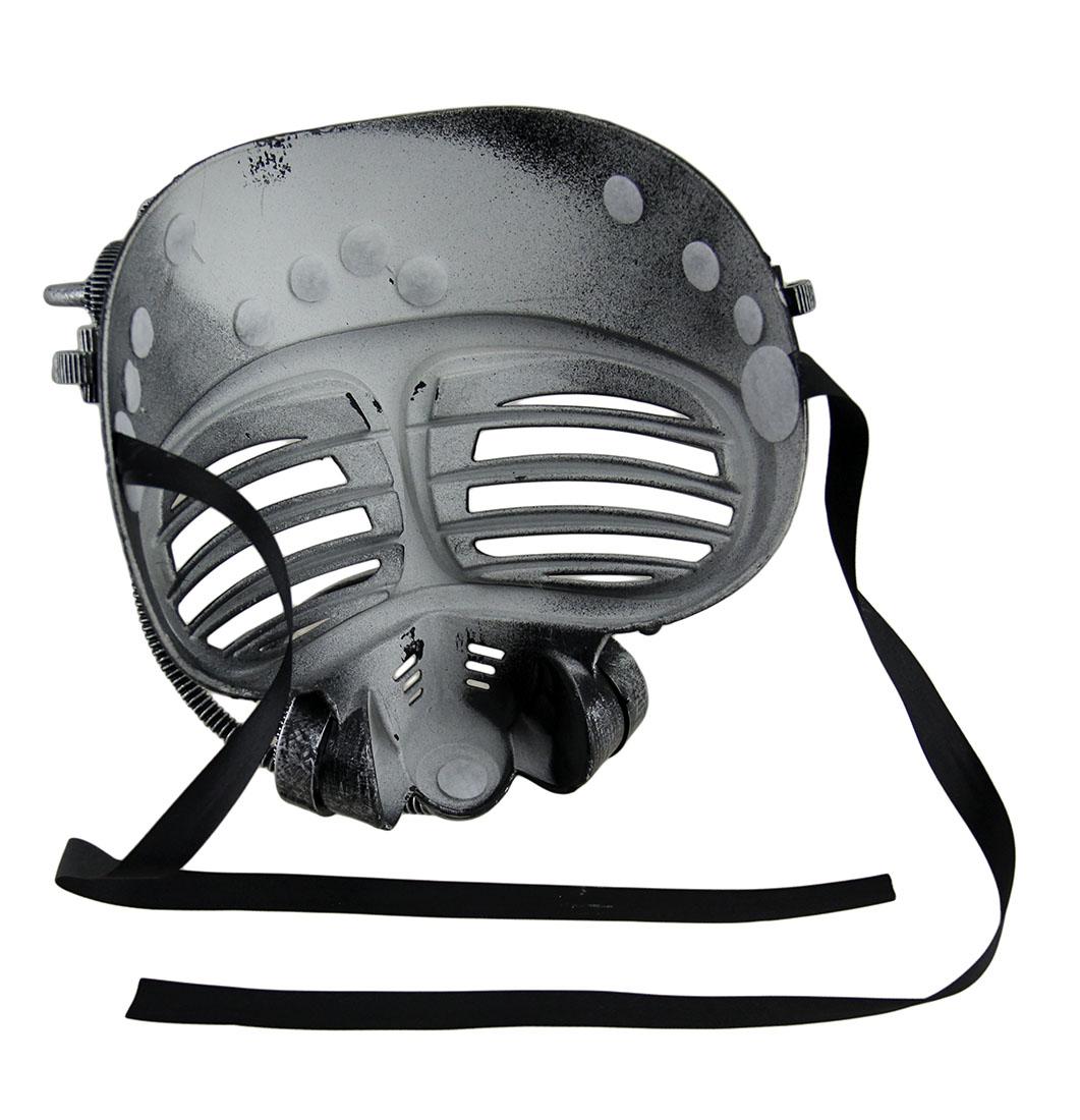 Metallic Finish Steampunk Full Face Submarine Diver Halloween Mask ...
