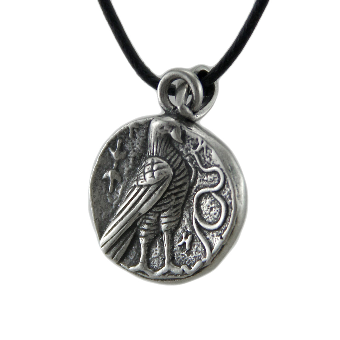 Solid pewter greek god zeus double sided pendant w cord necklace solid pewter greek god zeus double sided pendant w cord necklace zeckos mozeypictures Gallery