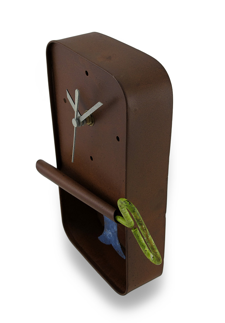 Sardine Can Wall Clock With Sardine Pendulum Metal Art Ebay