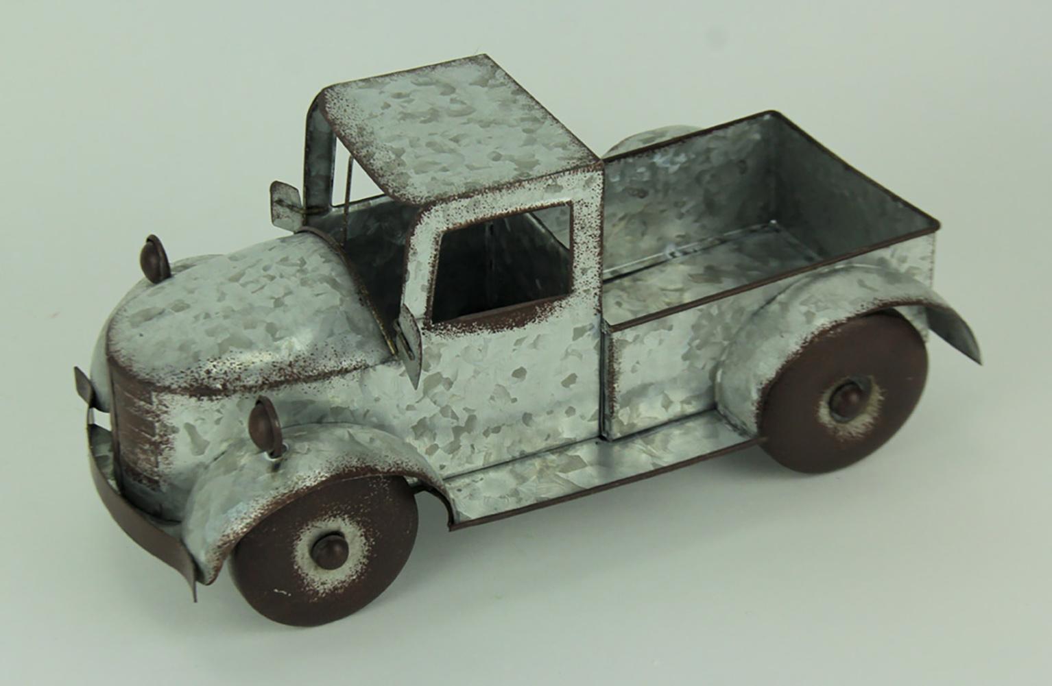 thumbnail 11 - Zeckos Rustic Metal Antique Truck Indoor or Outdoor Planter