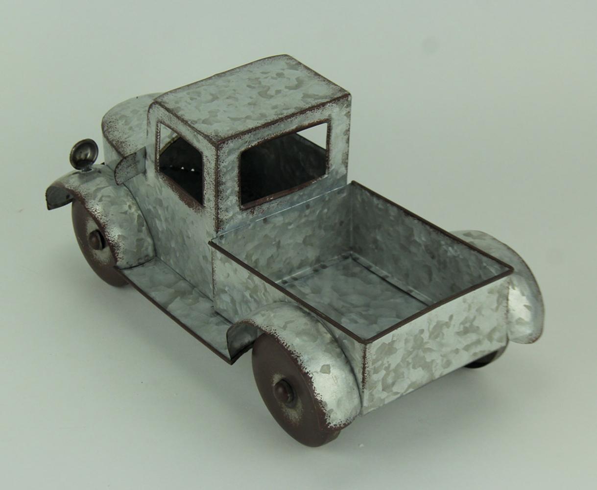 thumbnail 12 - Zeckos Rustic Metal Antique Truck Indoor or Outdoor Planter