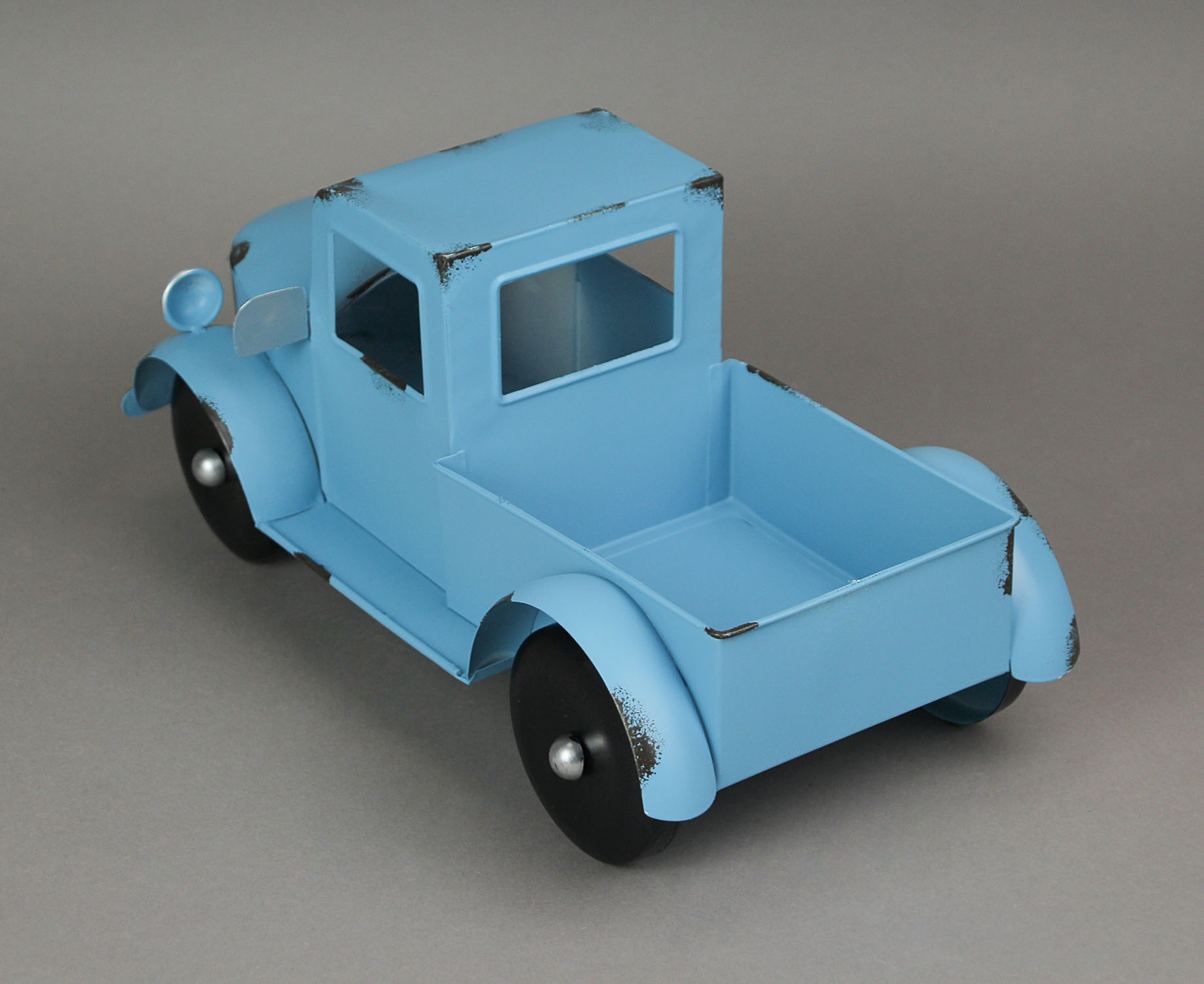 thumbnail 5 - Zeckos Rustic Metal Antique Truck Indoor or Outdoor Planter