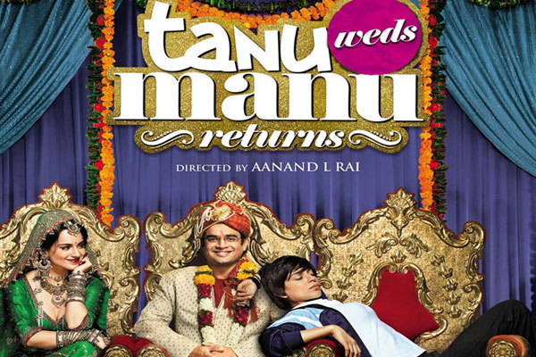 The poster shows Tanu ...