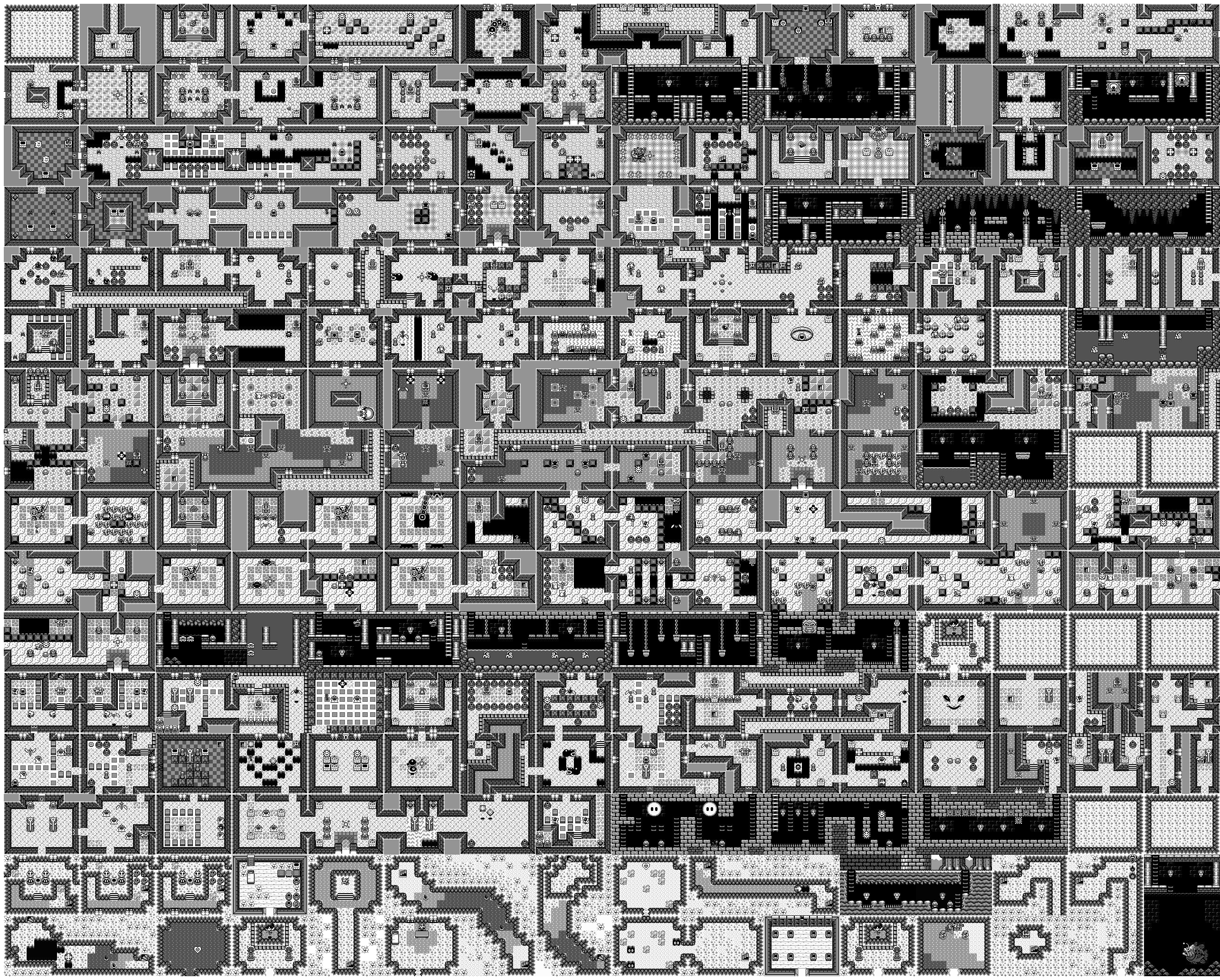 In-Game Maps - ZeldaSpeedRuns