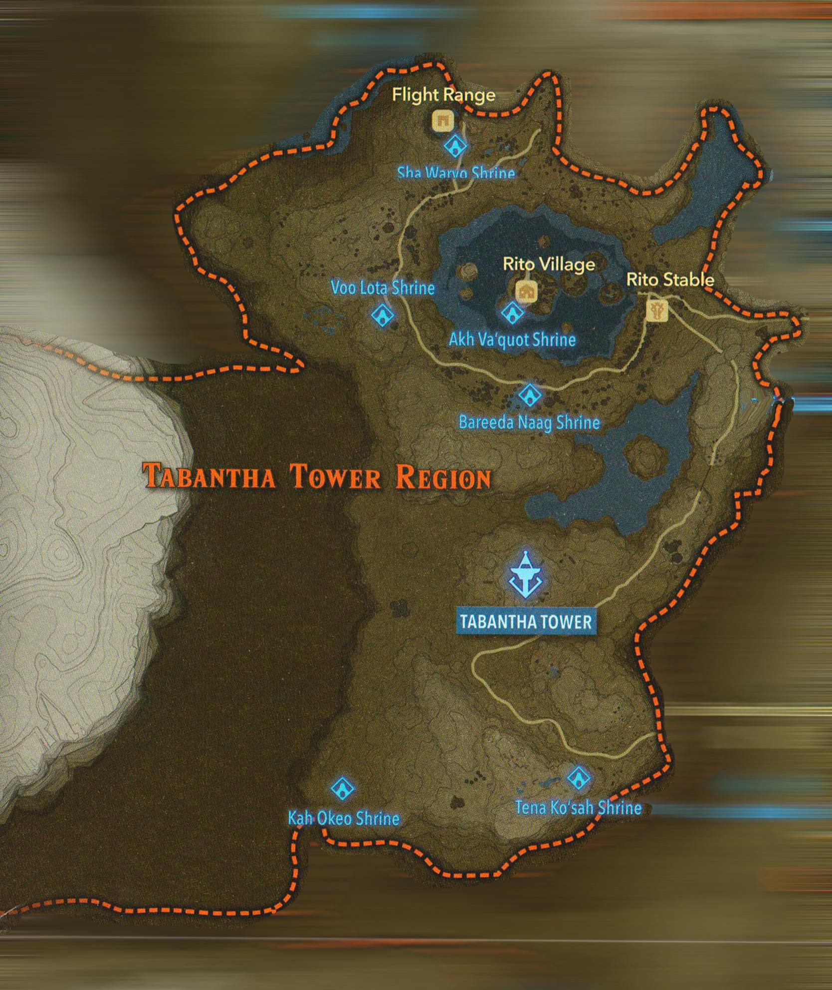 Tabantha Shrines Zeldaspeedruns Climb its stairs until you reach the top. zeldaspeedruns