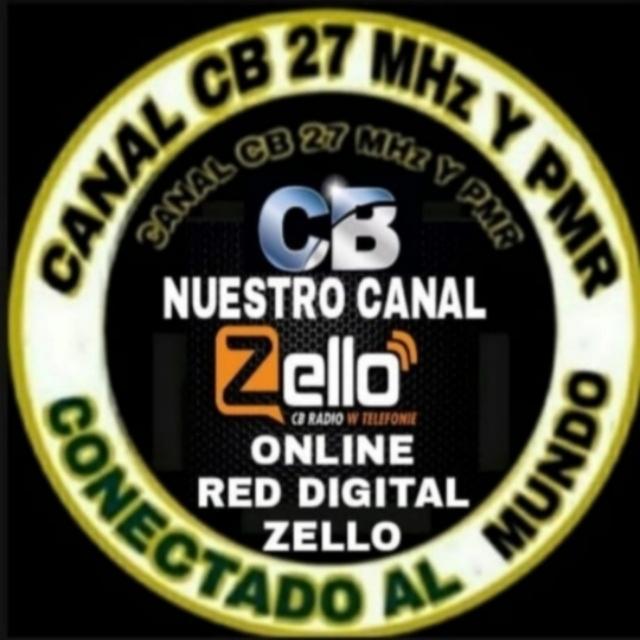 Canal de 27 CB 11 Metros y PRM con Zello