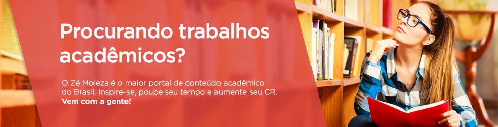 Milhares de trabalhos acadêmicos organizados por área e carreira.