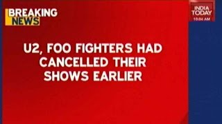 Top Entertainers Cancel Shows In Paris